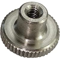 AERZETIX: 5x Tuercas moleteada M3 L6/12mm H2.5/7.5mm DIN466