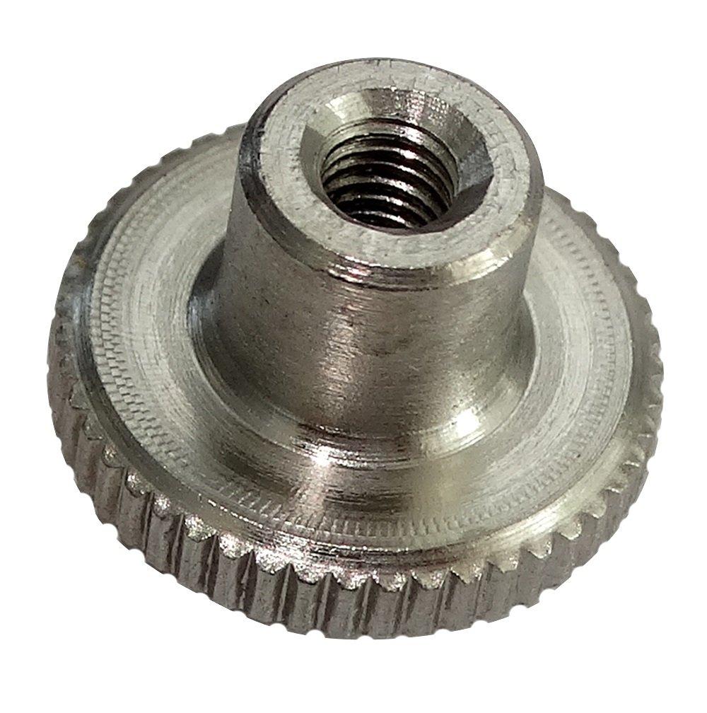 5 x M3 Knurled Nuts L6//12mm H2.5//7.5mm DIN466 A1 Stainless Steel C19223 Aerzetix