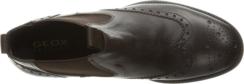 Geox u jaylon b, stivali chelsea uomo, braun (coffeec6009