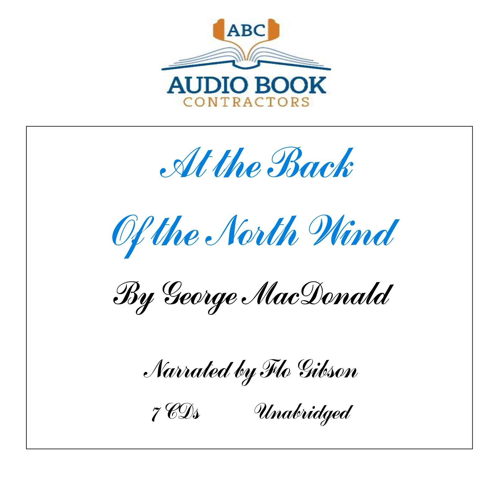 Read Online At the Back of the North Wind (Classic Books on CD Collection) [UNABRIDGED] (Classic Books on Cds Collection) ebook