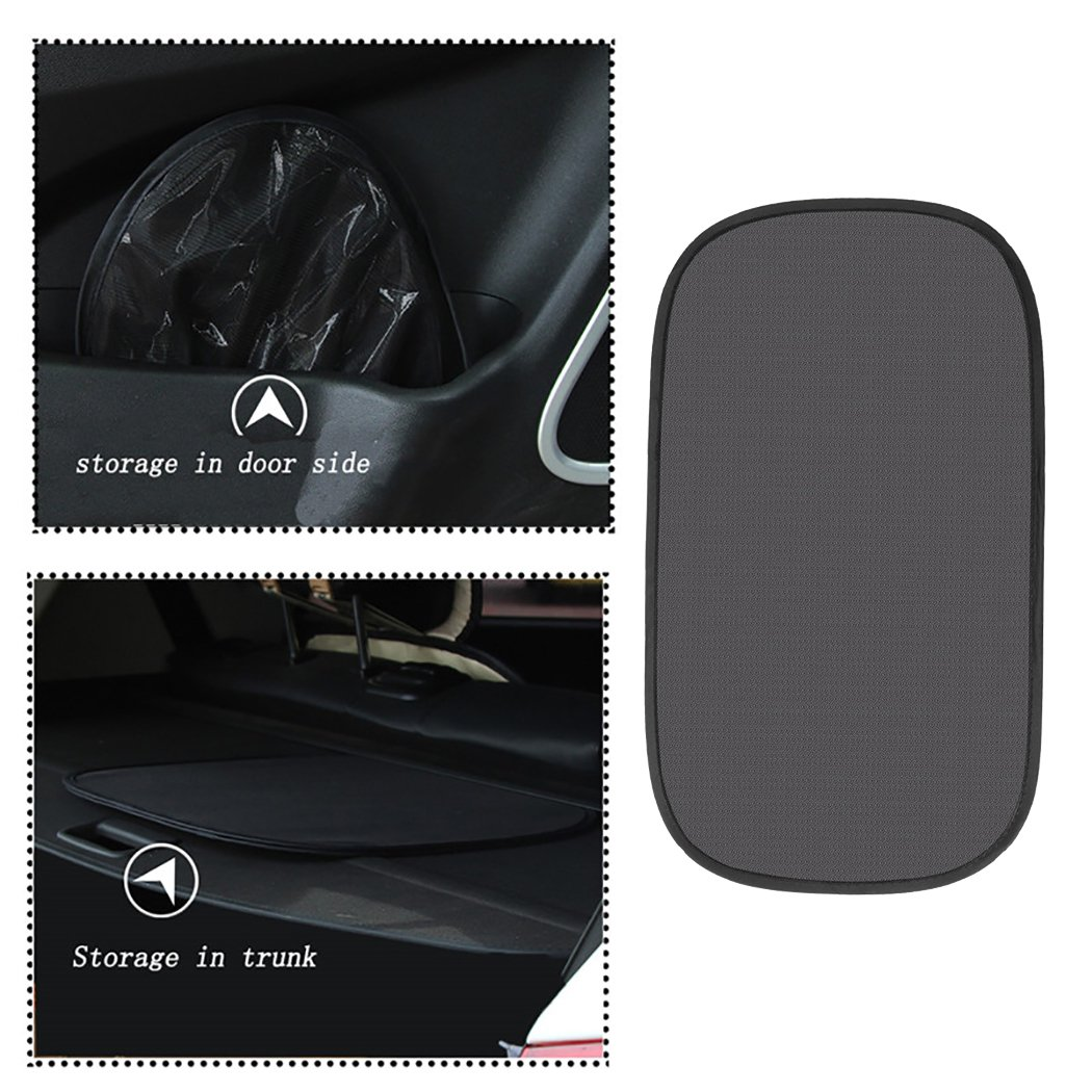 Fansport Car Window Shade UV Protective Car Window Shield Sunshade Protector 2 PCS Roller Retractable Sunshade