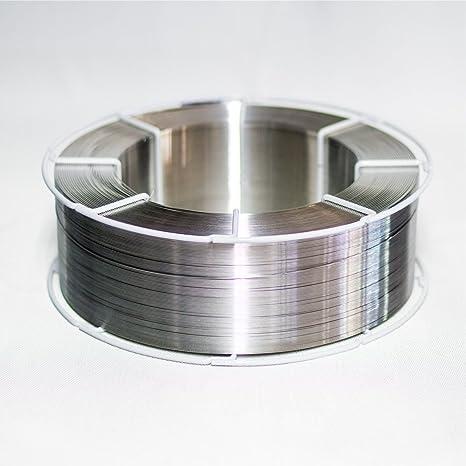Dimensiones de la soldadura de alambre AlMg 5 D: 1,2 mm K300