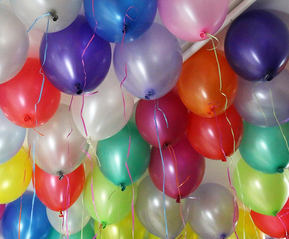 Amazoncom Assorted Color Balloons for Party Festivals