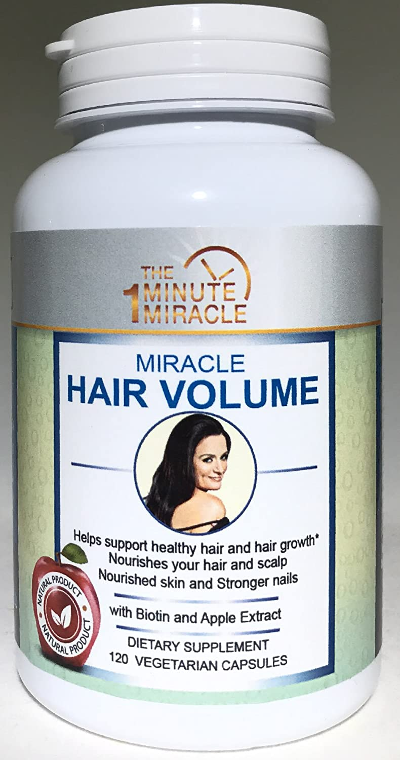 Biotin and Apple Extract - Miracle Hair Volume
