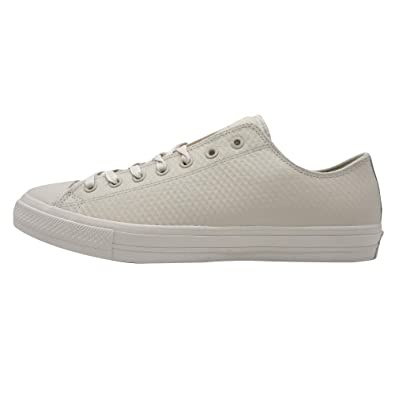 f6c3eca37ca8 Converse Chuck Taylor All Star II Mesh Backed Leather Ox Unisex Sneakers  White