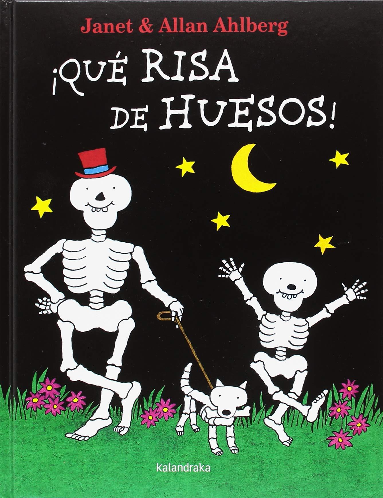 Qué risa de huesos! (Clásicos contemporáneos): Amazon.es: Ahlberg, Allan,  Hall, Janet, Diéguez, Miguel Ángel: Libros