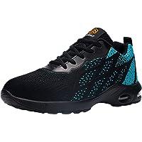 DKMILYAIR Impermeable Zapatillas de Seguridad Hombre Colchón de Aire Zapatos de Seguridad Trabajo Ligeras Respirable…