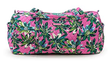 Amazon.com   Vera Bradley Large Traveler Duffel Bag (Tropical ... 9bb6bbb1d2
