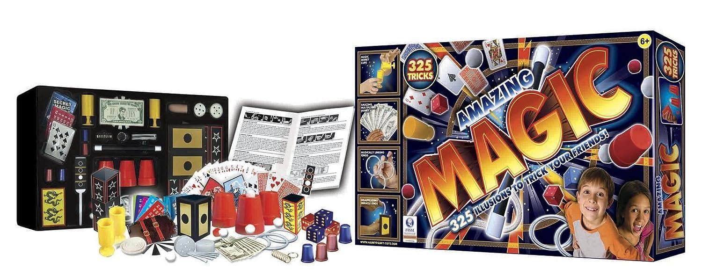 giocheria 8902 scatola magia amazing 325 trucchi di magia