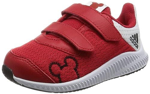 online store 50aa3 a337e adidas Disney Mm Fortarun CF I, Zapatillas Unisex Niños, Rojo  (Escarlftwbla
