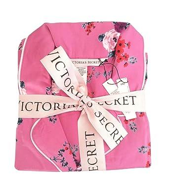 f56c203752da0 Victoria's Secret Satin Pajama Set Pink Floral Small at Amazon ...