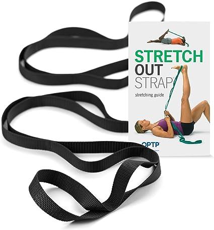 Amazon.com: OPTP - Correa elástica XL con libro de ejercicio ...