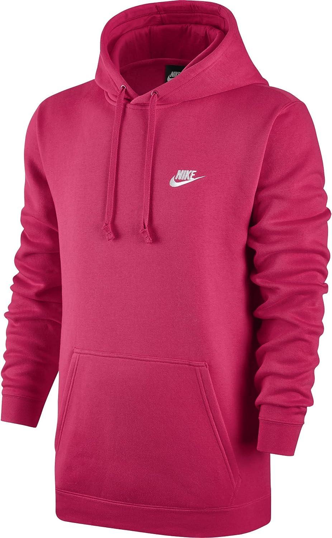 Nike M NSW Hoodie Po FLC Club Felpa con Cappuccio Uomo