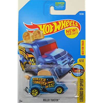 Hot Wheels 2020 Legends of Speed Roller Toaster (Toaster Car) 70/365, Blue: Toys & Games