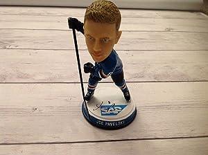 Joe Pavelski Signed Autographed SJ San Jose Sharks Bobblehead a - Autographed NHL Figurines