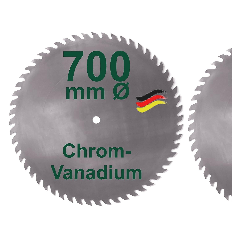 CV Sä geblatt 700 mm KV-A Wolfszahn Brennholzsä geblatt Kreissä geblatt Chromvanadium fü r Wippsä ge und Brennholz 700mm BauSupermarkt24