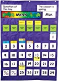 Carson Dellosa Complete Calendar and Weather Pocket Chart Pocket Chart (158003)