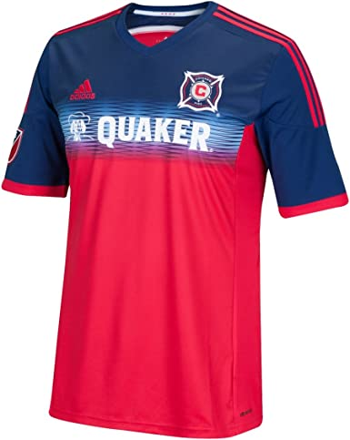 adidas MLS Mens Replica Short Sleeve Jersey