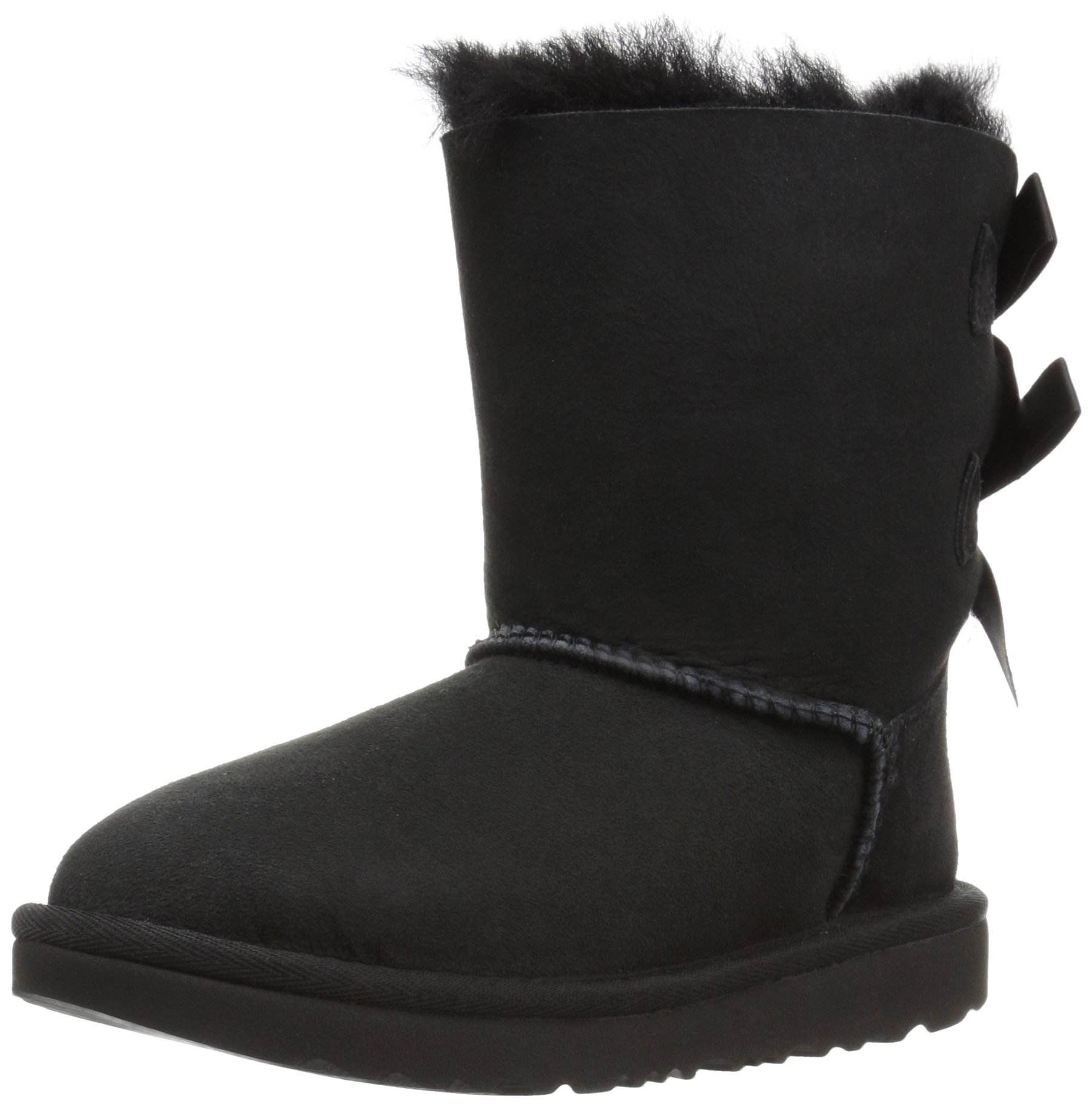UGG Girls T Bailey Bow II Fashion Boot, Black, 9 M US Toddler