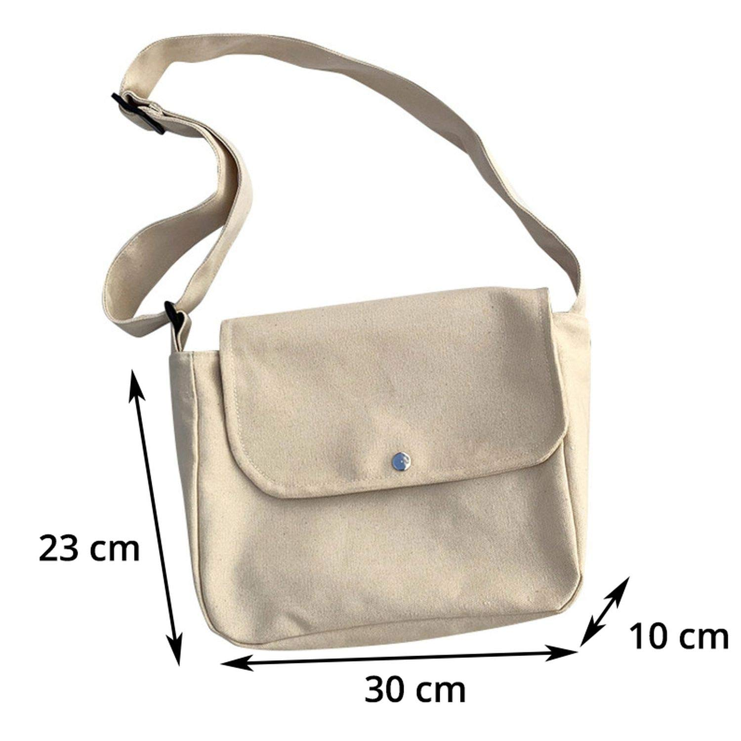 Messenger Bag Canvas Crossbody Bags Shoulder Bags Designer Handbagss Muje-In Top