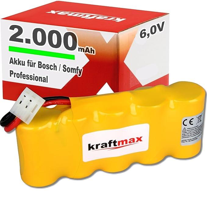 3x AKKU für Bosch SOMFY K8 K10 K12 mit 2000mAH Roll-Lift Easy Ersatz Akku