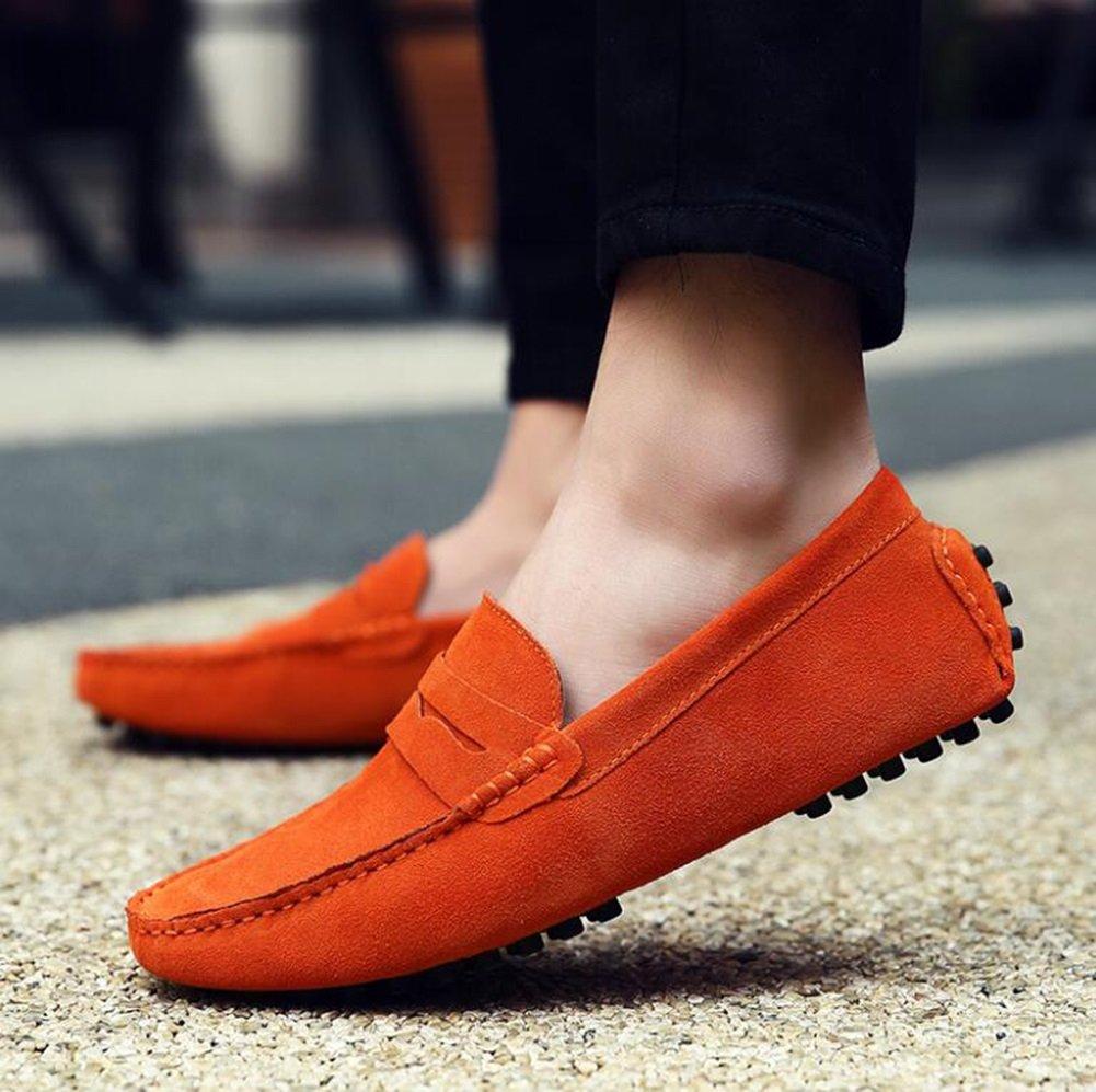 CAI Frauen Schuhe Flache Ferse Ferse Ferse Schuhe 2018 Männer und Frauen Leder Erbsen Schuhe Herrenschuhe British LUN Freizeitschuhe Outdoor-Reisen Tägliche Schuhe (Farbe   007, Größe   47) 0c9f2d