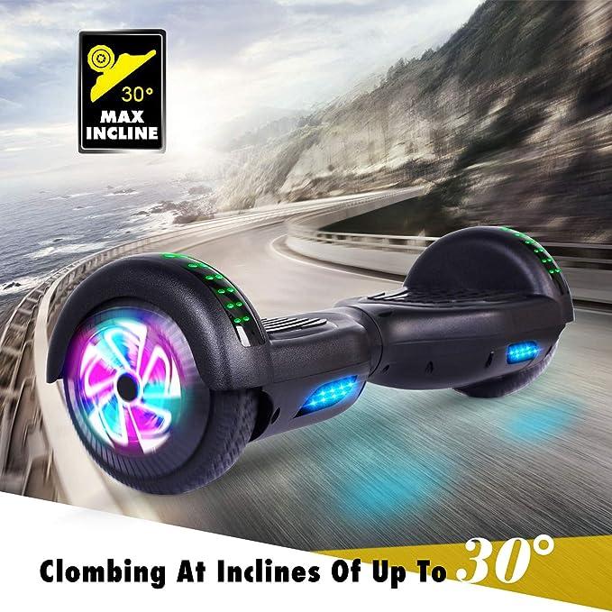 Amazon.com: CBD Hoverboard para niños, scooter eléctrico de ...