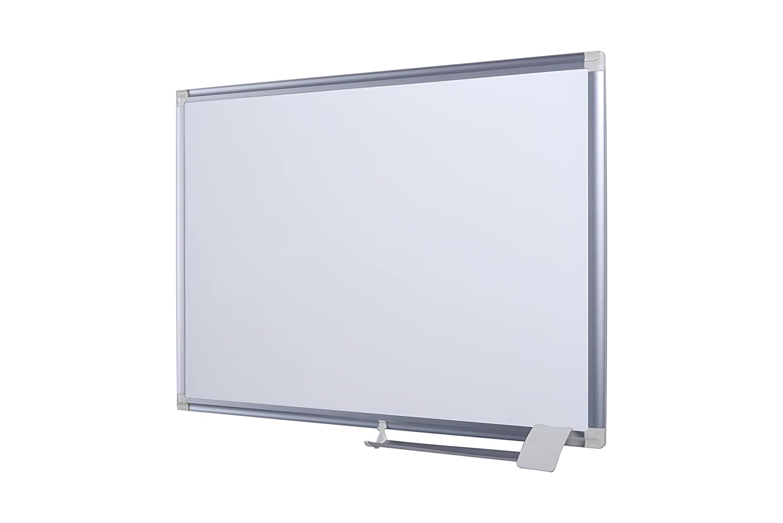 Painted Steel Surface 60x45 cm cm Aluminium Framed Magnetic Notice Board memo Board Bi-Office Dry Wipe Clean Magnetic whiteboard