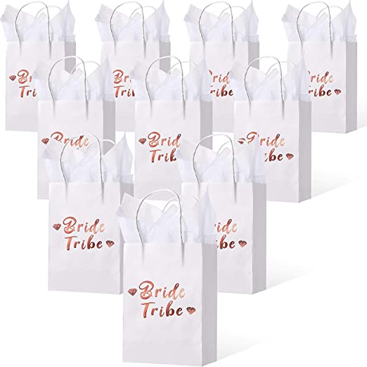 Personalised TEAM BRIDE Photo PARTY Gift BAGS Hen Night Party Tribe Favour Gift