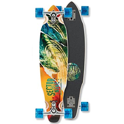 Sector 9 Chamber Drop Through Flush Mount Deck Skateboard
