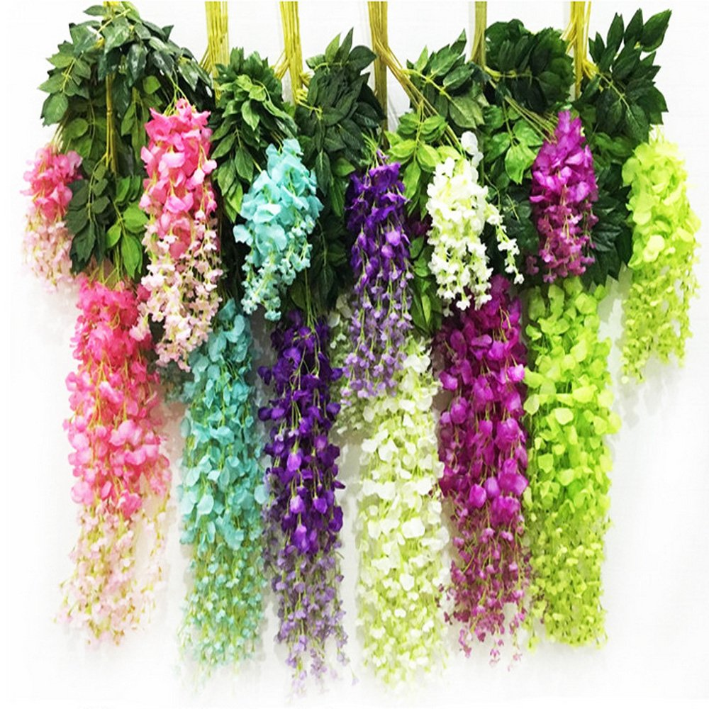 Artificial Hanging Flowers