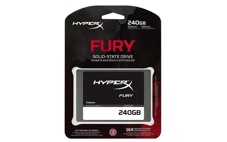 Kingston HyperX Fury 240GB CrystalDiskMark Benchmark