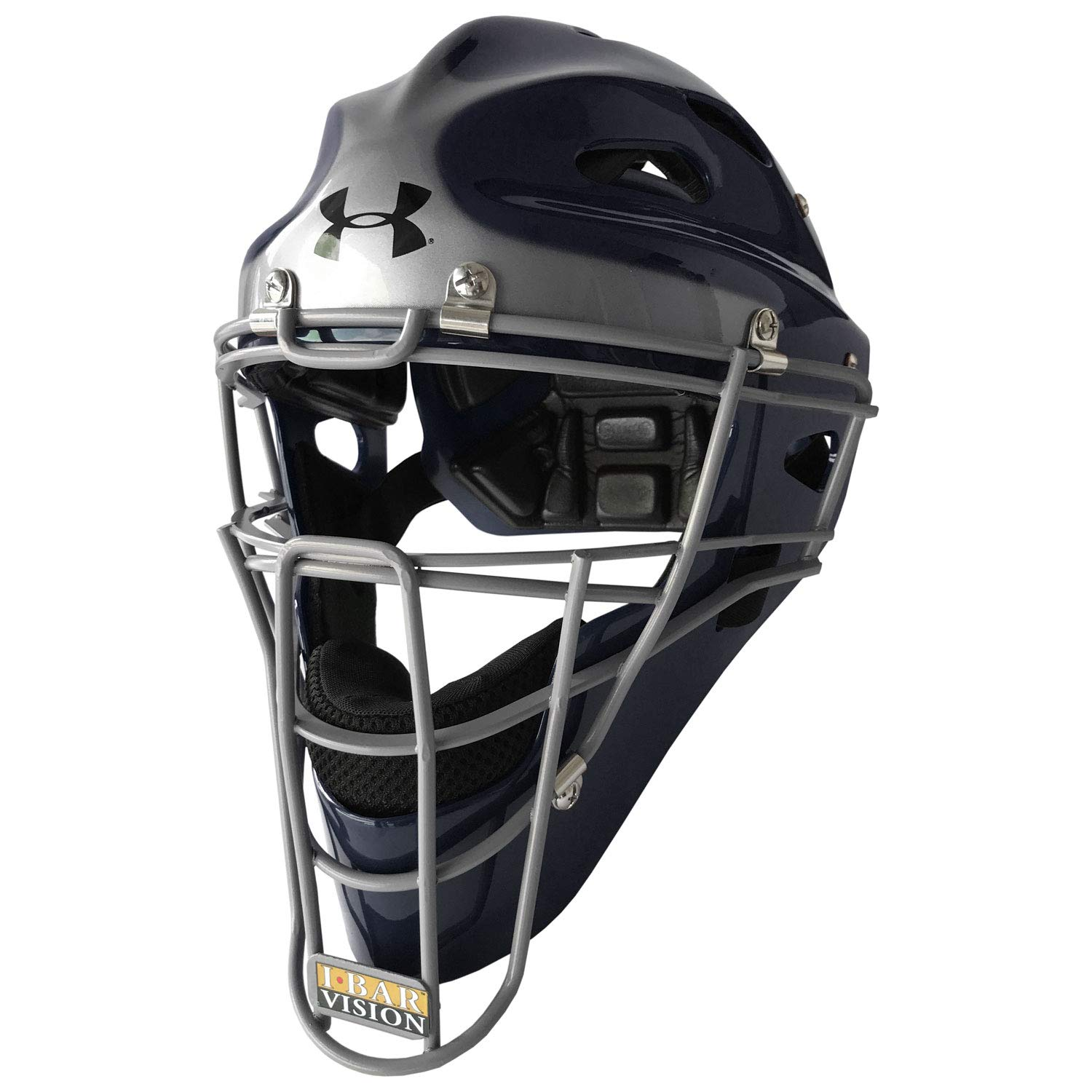 Under Armour Youth 2-Tone Baseball/Softball Catcher's Helmet by Under Armour