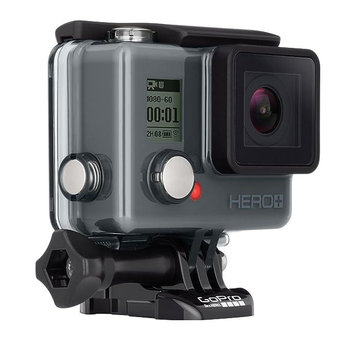 GoPro Hero - Videocámara Deportiva LCD (Pantalla táctil integrada + Altavoz, Impermeable hasta 40 m), (versión Inglesa/Francesa)
