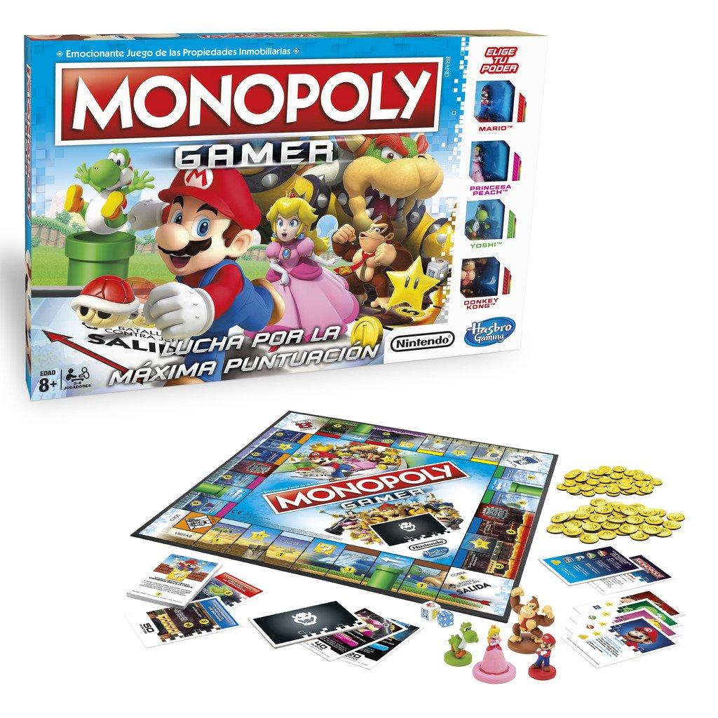Hasbro Gaming Juego De Mesa Monopoly Mario Kart E1870