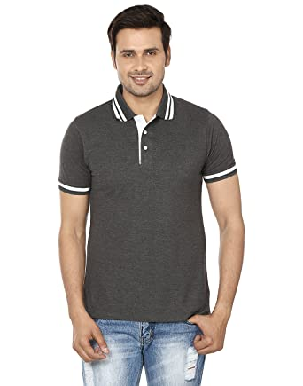 22db35489 EPG SKY BLUE PREMIUM COTTON RICH POLO T SHIRT available at Amazon for  Rs.5503
