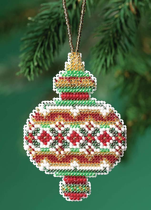 Sapphire Opal 10/% Off Mill Hill Beaded Holiday Collection X-stitch//Bead Kit