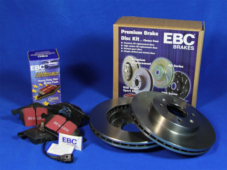 EBC S1KF1095 Stage-1 Premium Street Brake Kit