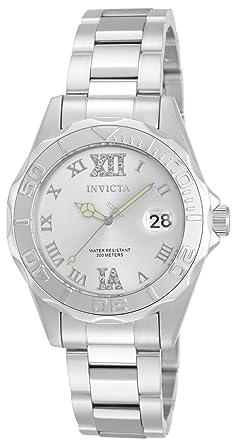 Invicta Pro Diver Women s Wrist Watch Stainless Steel Quartz Silver Dial -  12851 4563079bd