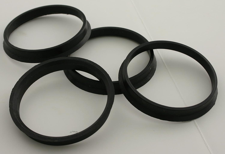 Mr Pack of 4 Lugnut HR67-5910-4 Hub Centric Ring