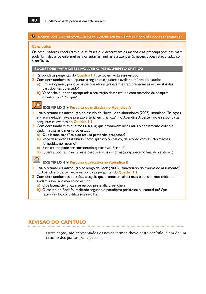 Amazoncom Fundamentos De Pesquisa Em Enfermagem