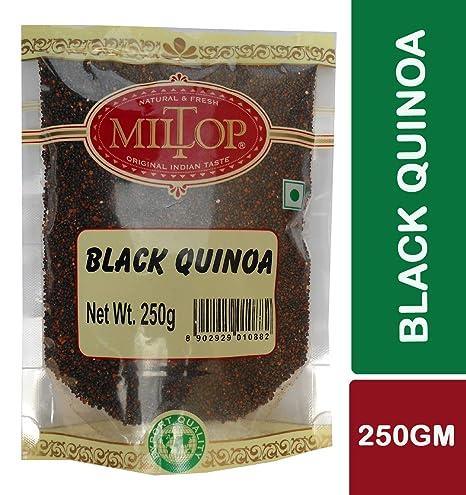 Miltop Black Quinoa, 250gm