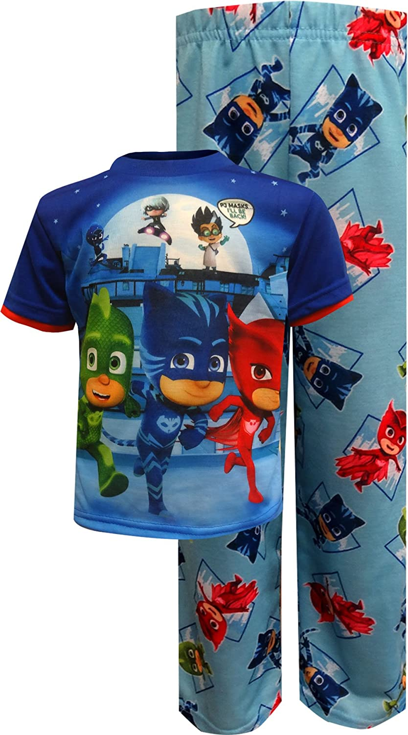 PJ Masks I'll Be Back Pajama Set for boys PJ145BS