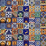 terra cotta tile 100 Mexican Ceramic Tiles Handmade Talavera Tiles