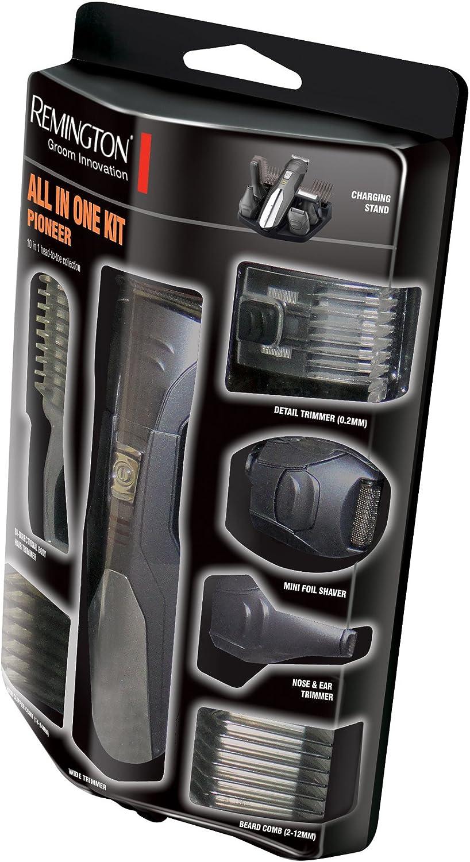Remington Groomkit - Cortadora con múltiples cabezales, cuchillas ...