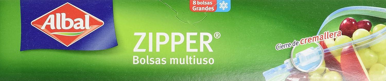 Albal - Zipper - Bolsas multiuso - 8 bolsas - [Pack de 4 ...