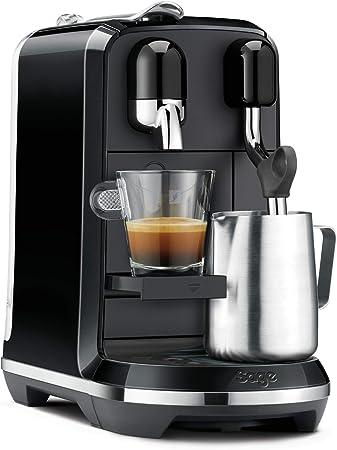 Sage Appliances NESPRESSO SNE500 the Creatista Uno von Sage - Espumador de leche, color negro brillante: Amazon.es: Hogar