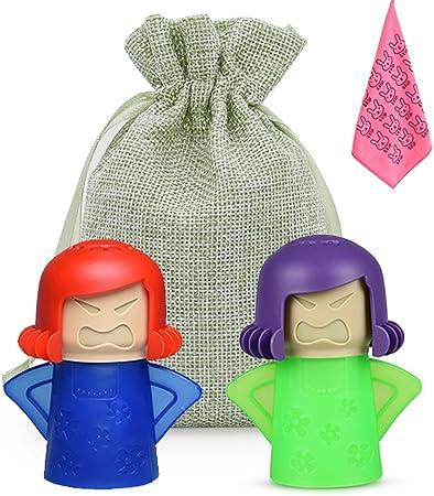 Amazon.com: 3 Pack, Mama Microondas Cleaner con gamuza de ...