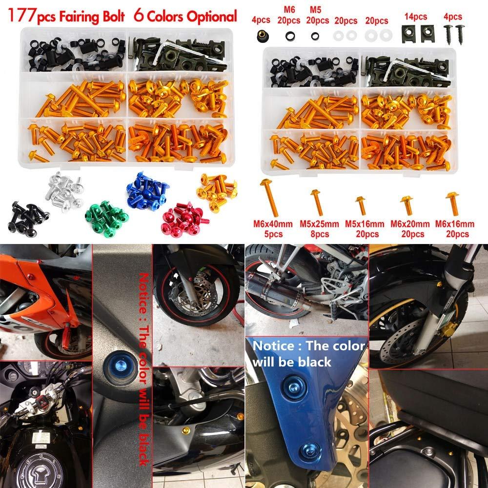 Fittings Complete CNC Fairing Bolts Kit Bodywork Screws Nut for Suzuki Vstrom 650 1000 DL650 DL1000 TL1000S TL1000R GSX1300R