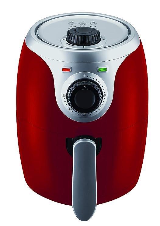 Master Airfryer - freidora de 2 litros roja: Amazon.es: Hogar